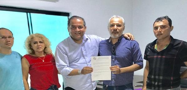 SINTECT-TO COBRA DO SENADOR EDUARDO GOMES PROMESSA DE APOIO À LUTA CONTRA A PRIVATIZAÇÃO DOS CORREIOS FEITA EM CAMPANHA
