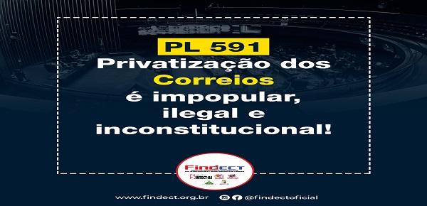 A LUTA CONTRA A PRIVATIZAÇÃO DOS CORREIOS SEGUE  FIRME NO SENADO E STF