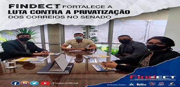 FINDECT REALIZA REUNIÃO COM ASSESSORIA DO SENADOR LUIZ DO CARMO (MDB-GO)