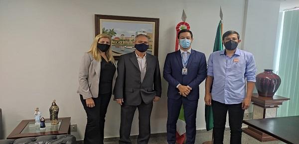 COMISSÃO DA FINDECT PARTICIPA DE REUNIÃO COM ASSESSORIA DO SENADOR DÁRIO BERGER
